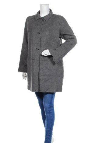 Дамско палто Apriori, Размер S, Цвят Сив, 55% вълна, 45% полиестер, Цена 16,01лв.