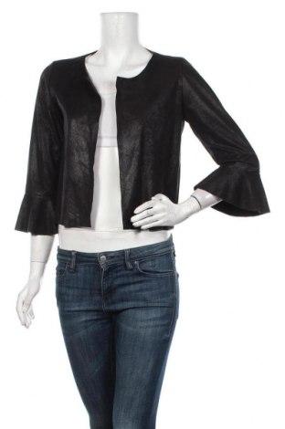 Дамско сако Lola & Liza, Размер M, Цвят Черен, 90% полиестер, 10% еластан, Цена 23,21лв.