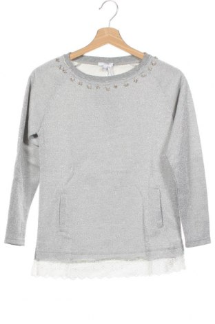 Детска блуза Artigli, Размер 15-18y/ 170-176 см, Цвят Сив, 60% полиестер, 20% памук, 20% метални нишки, Цена 43,45лв.