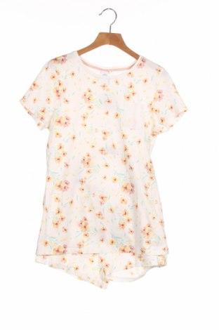 Pijama pentru copii Sanetta, Mărime 12-13y/ 158-164 cm, Culoare Alb, Bumbac, Preț 50,56 Lei
