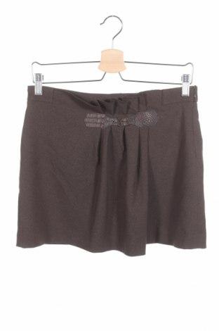 Fustă pentru copii Zara Kids, Mărime 13-14y/ 164-168 cm, Culoare Verde, 97% poliester, 3% elastan, Preț 10,49 Lei