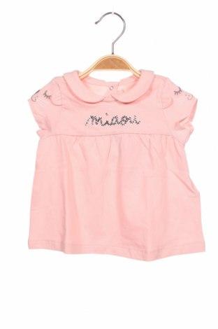 Παιδικό φόρεμα Du Pareil Au Meme, Μέγεθος 6-9m/ 68-74 εκ., Χρώμα Ρόζ , Βαμβάκι, Τιμή 12,99€