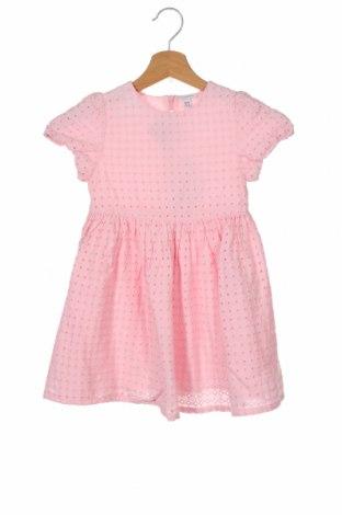 Dětské šaty  Fagottino By Oviesse, Velikost 2-3y/ 98-104 cm, Barva Růžová, Bavlna, Cena  470,00Kč