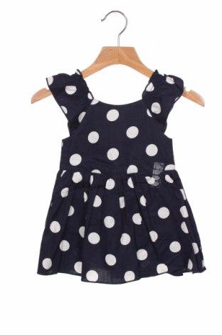 Παιδικό φόρεμα Grain De Ble, Μέγεθος 3-6m/ 62-68 εκ., Χρώμα Μπλέ, Βαμβάκι, Τιμή 15,16€