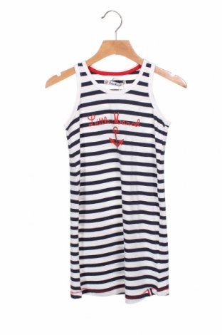 Παιδικό φόρεμα Little Marcel, Μέγεθος 6-7y/ 122-128 εκ., Χρώμα Λευκό, 95% βαμβάκι, 5% ελαστάνη, Τιμή 11,75€
