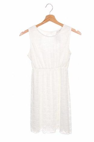 Παιδικό φόρεμα Mini Molly, Μέγεθος 9-10y/ 140-146 εκ., Χρώμα Λευκό, 87% πολυαμίδη, 13% ελαστάνη, Τιμή 13,61€