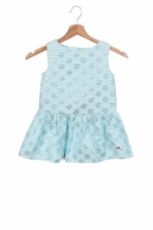 Dětské šaty  Sonia Rykiel, Velikost 4-5y/ 110-116 cm, Barva Modrá, 55% polyester, 29% bavlna, 16% polyamide, Cena  1524,00Kč