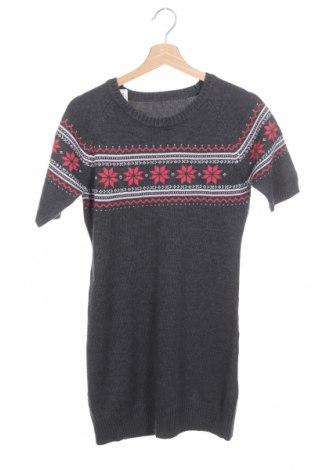 Παιδικό φόρεμα TCM, Μέγεθος 12-13y/ 158-164 εκ., Χρώμα Γκρί, 50% βαμβάκι, 50%ακρυλικό, Τιμή 9,38€