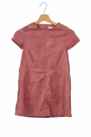 Dziecięca sukienka Zara, Rozmiar 8-9y/ 134-140 cm, Kolor Różowy, 96% poliester, 4% elastyna, Cena 72,00zł