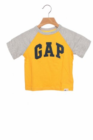 Παιδικό μπλουζάκι Gap, Μέγεθος 18-24m/ 86-98 εκ., Χρώμα Κίτρινο, Βαμβάκι, Τιμή 11,14€