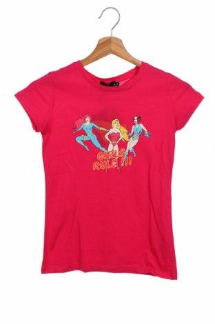 Tricou pentru copii Le Petit Marcel, Mărime 11-12y/ 152-158 cm, Culoare Roz, Bumbac, Preț 55,27 Lei