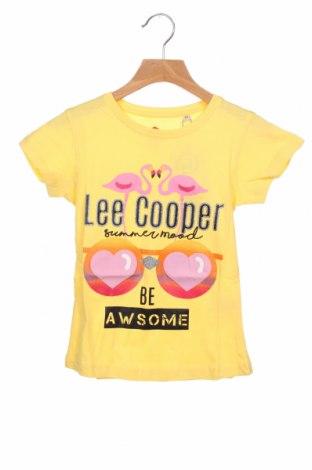 Παιδικό μπλουζάκι Lee Cooper, Μέγεθος 6-7y/ 122-128 εκ., Χρώμα Κίτρινο, Βαμβάκι, Τιμή 8,97€