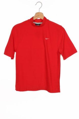 Tricou pentru copii Nike Golf, Mărime 10-11y/ 146-152 cm, Culoare Roșu, 88% poliester, 12% elastan, Preț 76,84 Lei