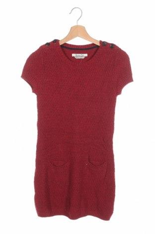 Tunică pentru copii Massimo Dutti, Mărime 11-12y/ 152-158 cm, Culoare Roșu, 42% viscoză, 26% poliamidă, 25% lână, 7% angora, Preț 32,33 Lei