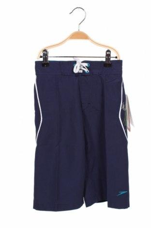 Costum de baie pentru copii Speedo, Mărime 2-3y/ 98-104 cm, Culoare Albastru, Poliester, Preț 67,99 Lei