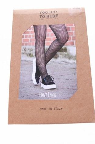 Dětské punčocháče Too Hot To Hide, Velikost 14-15y/ 168-170 cm, Barva Černá, Cena  107,00Kč