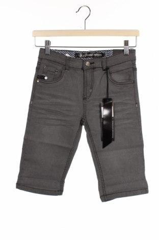 Dětské krátké kalhoty  RG 512, Velikost 11-12y/ 152-158 cm, Barva Šedá, 70% bavlna, 28% polyester, 2% elastan, Cena  264,00Kč