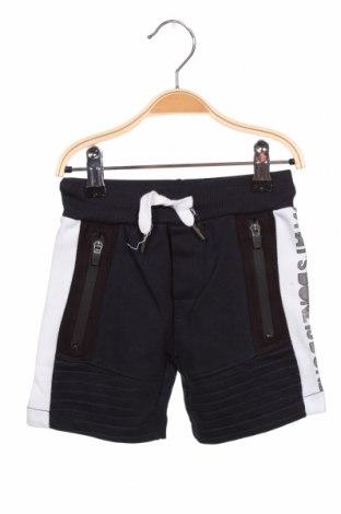 Детски къс панталон Orchestra, Размер 18-24m/ 86-98 см, Цвят Син, 74% памук, 26% полиестер, Цена 21,60лв.