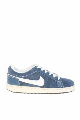 Dětské boty  Nike, Velikost 36, Barva Modrá, Přírodní velur , Eko kůže, Cena  1132,00Kč
