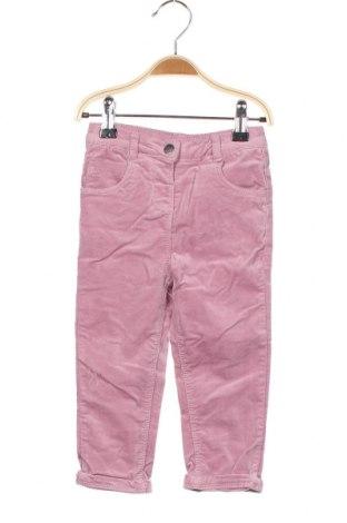 Детски панталон Orchestra, Размер 18-24m/ 86-98 см, Цвят Розов, 98% памук, 2% еластан, Цена 21,12лв.