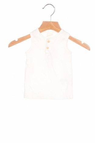 Podkoszulek dziecięcy H&M, Rozmiar 6-9m/ 68-74 cm, Kolor Biały, Bawełna, Cena 49,50zł