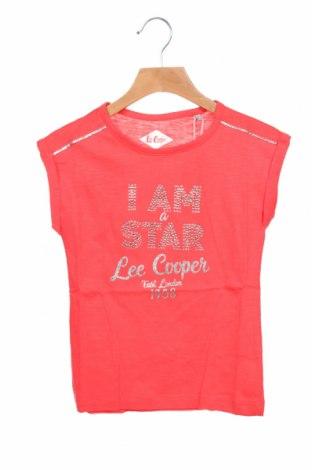 Μπλουζάκι αμάνικο παιδικό Lee Cooper, Μέγεθος 6-7y/ 122-128 εκ., Χρώμα Ρόζ , Βαμβάκι, Τιμή 8,97€