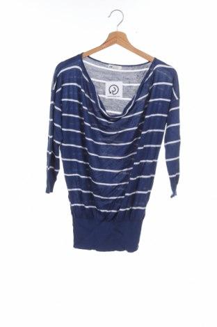 Pulover pentru copii H&M, Mărime 15-18y/ 170-176 cm, Culoare Albastru, 50% viscoză, 50%acril, Preț 10,74 Lei