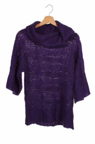 Pulover pentru copii Y.F.K., Mărime 15-18y/ 170-176 cm, Culoare Mov, Poliacrilic, Preț 13,26 Lei