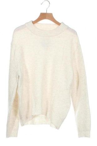 Παιδικό πουλόβερ Zara, Μέγεθος 13-14y/ 164-168 εκ., Χρώμα Λευκό, 57% πολυεστέρας, 40%ακρυλικό, 3% ελαστάνη, Τιμή 8,78€
