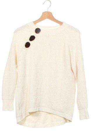 Παιδικό πουλόβερ Zara, Μέγεθος 10-11y/ 146-152 εκ., Χρώμα Εκρού, 95% πολυεστέρας, 5% πολυαμίδη, Τιμή 4,91€