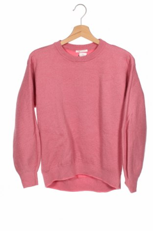 Dziecięcy sweter Zara Knitwear, Rozmiar 13-14y/ 164-168 cm, Kolor Różowy, 35% poliester, 31% wiskoza, 21% poliamid, 5% metalowe nici, Cena 56,25zł