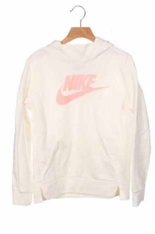 Dětská mikina  Nike, Velikost 9-10y/ 140-146 cm, Barva Bílá, 80% bavlna, 20% polyester, Cena  558,00Kč