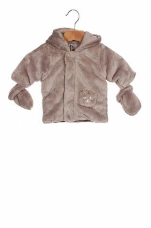 Детско яке Absorba, Размер 1-2m/ 50-56 см, Цвят Сив, Полиестер, памук, Цена 40,05лв.