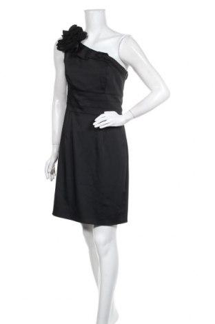 Кожена рокля Apart, Размер M, Цвят Черен, 96% полиестер, 4% еластан, Цена 33,60лв.