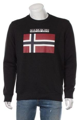 Pánské tričko  Napapijri, Velikost M, Barva Černá, Bavlna, Cena  1036,00Kč