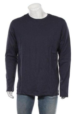 Bluză de bărbați Springfield, Mărime XL, Culoare Albastru, Bumbac, Preț 88,65 Lei