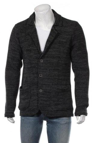 Jachetă tricotată de bărbați Mavi, Mărime L, Culoare Gri, 75% bumbac, 23% poliester, 2% viscoză, Preț 91,35 Lei