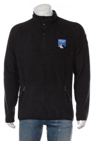 Мъжка поларена блуза Napapijri, Размер L, Цвят Сив, Полиестер, Цена 81,95лв.