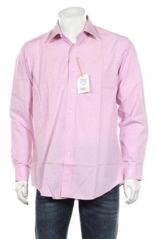 Мъжка риза Arrow, Размер M, Цвят Розов, Памук, Цена 36,40лв.