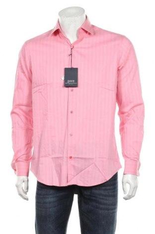 Мъжка риза Arrow, Размер M, Цвят Розов, 83% памук, 14% полиамид, 3% еластан, Цена 36,40лв.