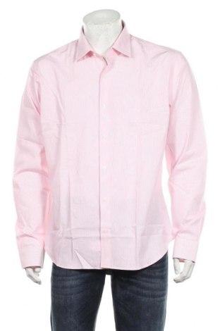Мъжка риза Arrow, Размер XL, Цвят Розов, Памук, Цена 35,10лв.