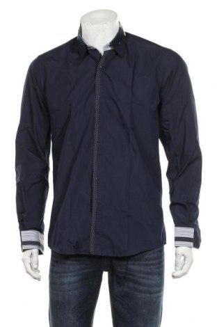 Pánská košile  Dewberry, Velikost L, Barva Modrá, 80% bavlna, 20% polyester, Cena  342,00Kč