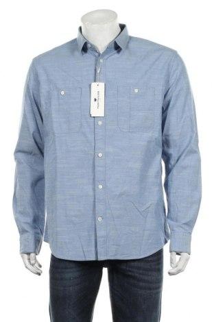 Pánská košile  Tom Tailor, Velikost L, Barva Modrá, 98% bavlna, 2% elastan, Cena  325,00Kč