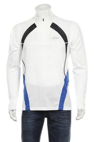 Мъжка спортна блуза ASICS, Размер L, Цвят Бял, Полиестер, Цена 15,60лв.