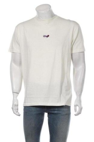 Мъжка тениска 274, Размер L, Цвят Бял, Памук, Цена 18,56лв.