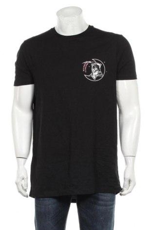 Мъжка тениска ASOS, Размер L, Цвят Черен, Памук, Цена 33,75лв.