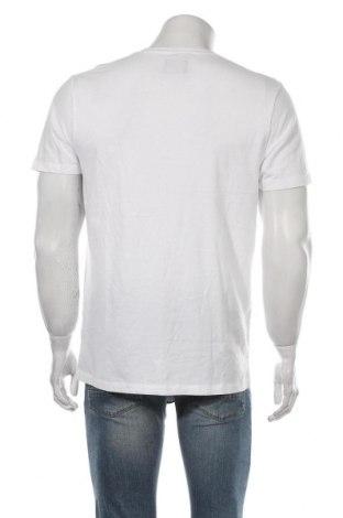 Мъжка тениска Abercrombie & Fitch, Размер L, Цвят Бял, Памук, Цена 27,84лв.