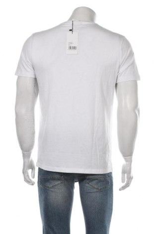 Мъжка тениска About You, Размер M, Цвят Бял, 50% модал, 50% памук, Цена 18,70лв.