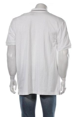 Мъжка тениска Adidas, Размер XXL, Цвят Бял, 58% памук, 42% полиестер, Цена 35,55лв.