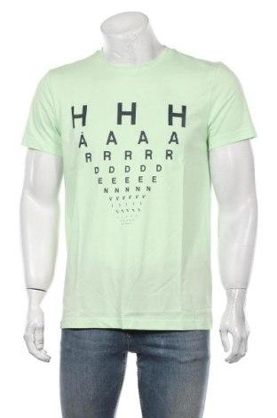 Мъжка тениска Adidas, Размер M, Цвят Зелен, 70% памук, 30% полиестер, Цена 33,12лв.